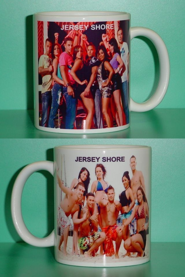 Jersey Shore Snooki The Situation Collectible Mug