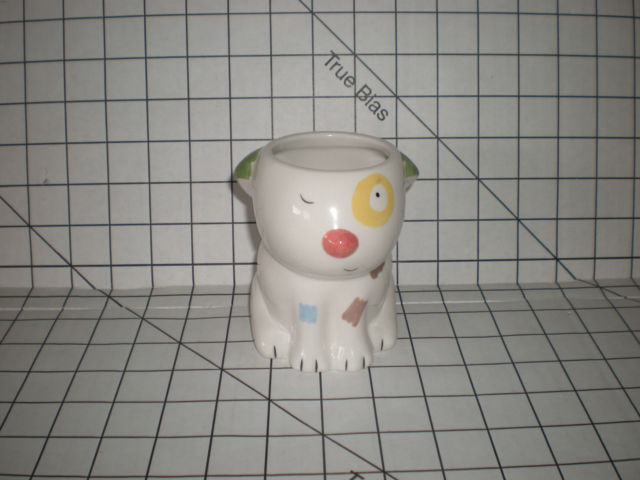 Jenny Faw & Jeff Oxford Cup Tumbler Cats Dogs Best Friends Bow Wow Meow EUC
