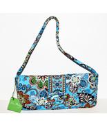 Vera Bradley Clutch Purse Handbag Bali Blue Kno... - $39.99
