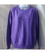 New XL purple Joe sweater with long sleeves & r... - $15.00