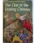 Nancy Drew #26 CLUE OF THE LEANING CHIMNEY 1949... - $110.00