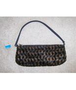 Lancome Faux Fur Purse Handbag - $10.00