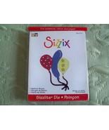 Sizzix Sizzlits Balloon Bunch 1die #654715 nip - $4.99