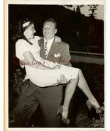 Mike MAZURKI Jeannette BRIGGS ORG Candid  PHOTO... - $14.99