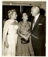 Vintage Conrad HILTON Dolores Del RIO c1955 Pre... - $14.99
