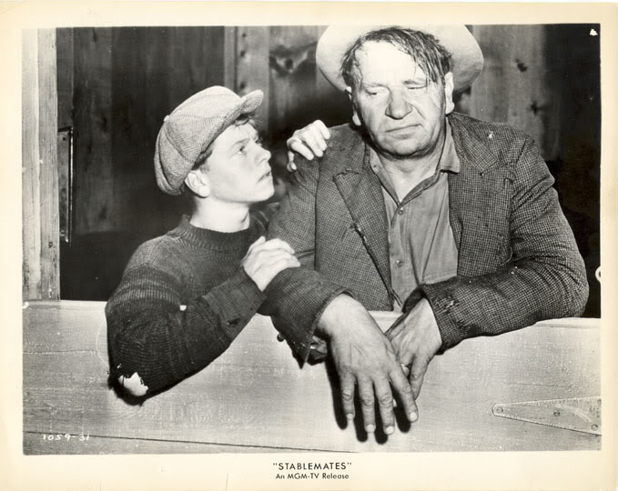 Wallace Beery Wallpapers MICKEY ROONEY WALLACE BEERY Stablemates Orig Photo TV Release
