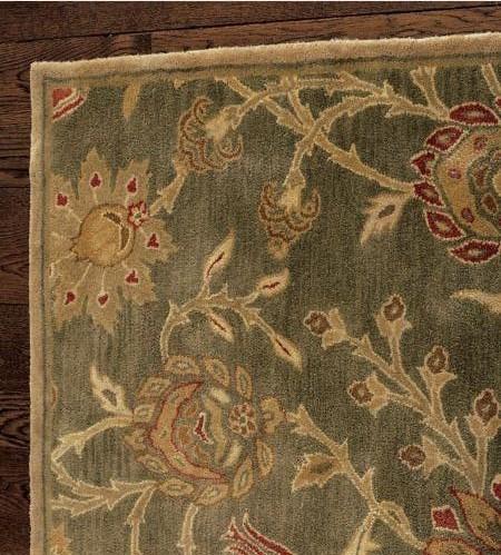 New pottery barn handmade persian skylar area rug 8x10 rugs carpets - Discontinued pottery barn rugs ...