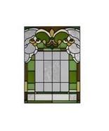 10x14 Stained Glass FLEUR DE LIS  Suncatcher Panel - $42.00