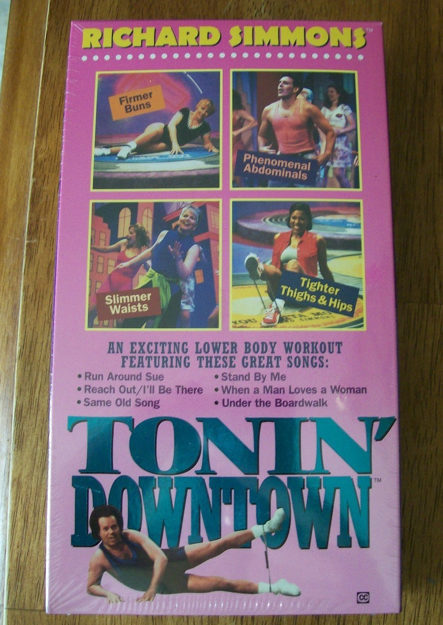 Richard Simmons VHS Tonin Downtown lower body