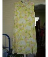 Vintage Rockabilly Dress Yel/Pink/Grn/White - B... - $14.99