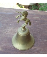 Vintage BRASS UNICORN horse / STALLION dinner B... - $20.00
