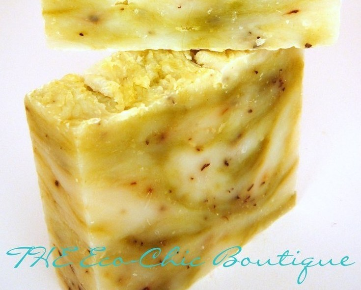 Peppermint Tea Tree Oil Handcrafted Olive Oil Soap