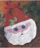 Santa Bib Crochet Pattern - $4.99