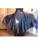 Costume poodle circle skirt 50s bop girls adult... - $22.00