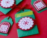 Buy Gift Tags - Hanging Gift Card Holders and Tag Set in Green