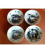 Antique Chinese Porcelain Bowls Blue & White Ce... - $110.00