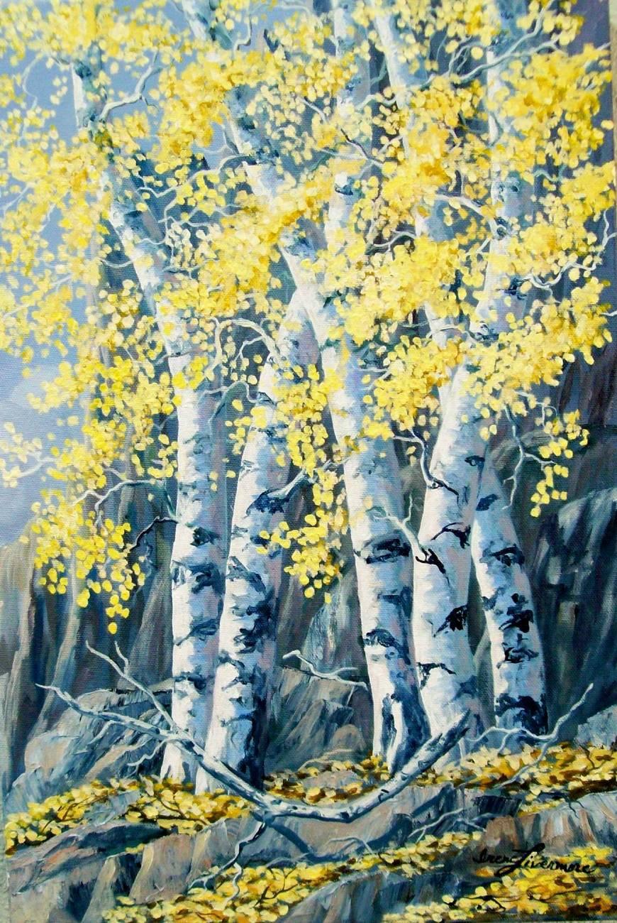 Aspen Landscape Oil Paintings