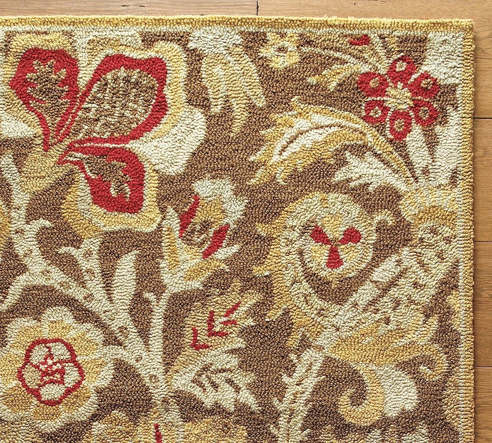 New Brand Devlin Persian Rug Handmade 100 Wool Area Rugs: New Pottery Barn Handmade Persian EMERSON Area Rug 8X10