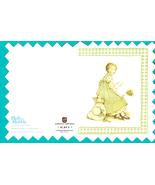 Holly Hobbie Note Card - vintage with envelope - $2.50