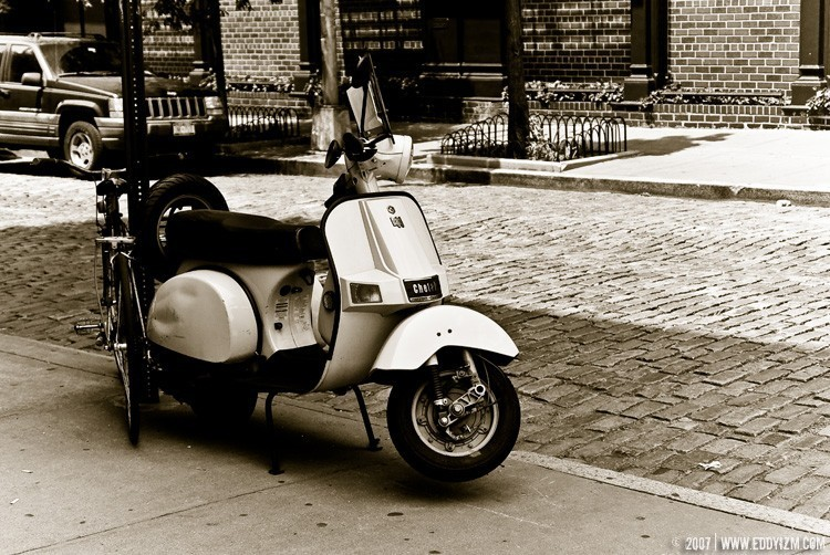 NY Scooter - Original Fine Art Photograph (8x12)