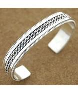 Native American Sterling Silver Cuff Bracelet b... - $165.77