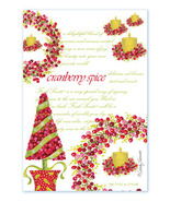 Fresh Scents Scented Sachets by Willowbrook Company - Cranberry Spice, 3 Packs