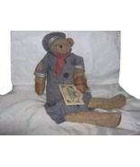 Teddy Tompkins Collectible Bear Sebastian With Tag - $15.99
