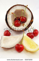 Cherry Coconut Scented Goats Milk Bar Soap All ... - $4.99