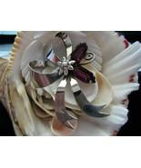 Sterling Silver Bow Brooch Vintage 17.4 grams 3... - $55.00