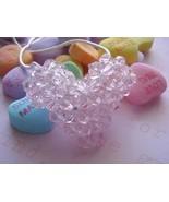 Swarovski Crystal Puffy Heart Necklace in Light... - $20.00