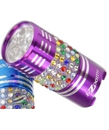 Bling Purse Flashlight Purple Purse Size 9 LED - $9.95