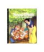 Snow White and the Seven Dwarfs, Little Golden ... - $3.00