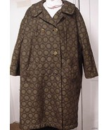 Womens Plus size Vintage Coat 52