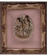 ANTIQUE VICTORIAN RAISED RELIEF CAMEO CARVED IM... - $100.00