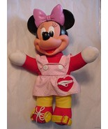 Vintage Minnie Mouse Disney Plush/Plastic Toy D... - $19.95