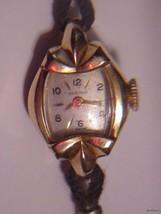 Vintage BENRUS 10K rgp Ladies Dress Watch - $53.00