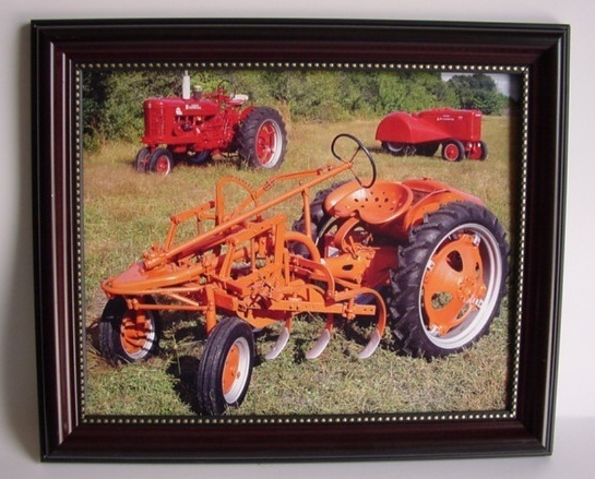 Allis Chalmers International Harvestor Framed 8 x 10 Wall Picture