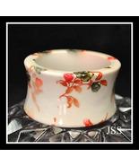 Cream Flower Lucite Bangle Bracelet - $11.99