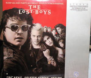 The Lost Boys (LD Laserdisc closed captioned)USA RARE