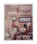 Teddy n Friends Cross Stitch Dale Burdett DB-25 - $1.99