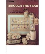 Through the Year Cross Stitch Leisure Arts #711 - $1.99