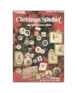 Christmas Stitchin' Cross Stitch Leisure Arts #197 - $1.99