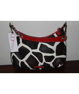 NINE & CO. by NINE WEST Giraffe Print Handbag Purse NEW - $18.99