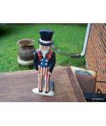 Uncle Sam Door Stop 11in. tall Lot 221 - $45.00