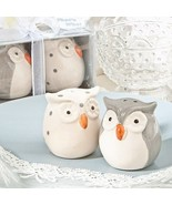 50 Cute Owl Salt Pepper Shakers Set Wedding Fav... - $121.11