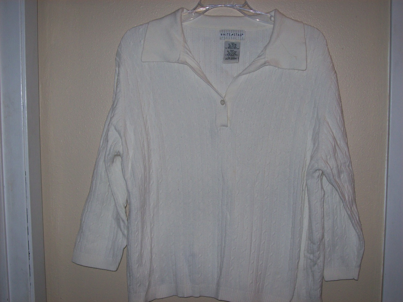 white stag womens sweater xl