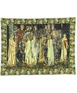 37x52 HOLY GRAIL Knight Medieval Tapestry Wall ... - $425.00
