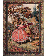 46x33 DANZA Romantic Fine Art Tapestry Wall Han... - $225.00