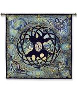 52x51 CELTIC TREE OF LIFE Europe Tapestry Wall ... - $180.00