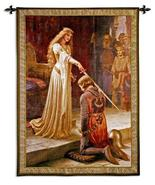 42x53 ACCOLADE Knight Lady Woman Royal Castle M... - $169.95